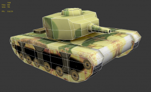 Tyger tank front