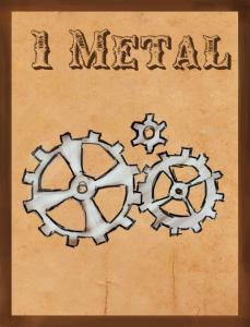 1 Metal card WIP