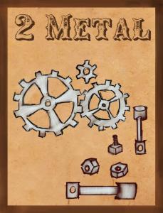 2 Metal card WIP